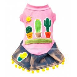 Cactus dog dress
