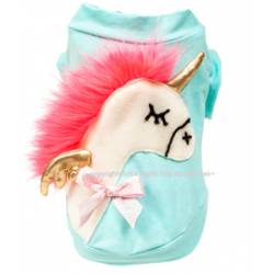 Neon pink hair pony...