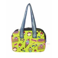 Candy shop zipper bag
