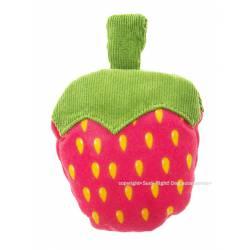 Neon strawberry toy