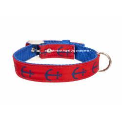 Anchor Red Blue Collar