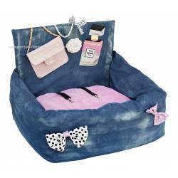 Pink Chanel flap bag...