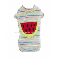 Watermelone dog shirt