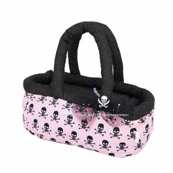 Pink&Skull basket bag