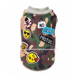 Camouflage emojis dog...